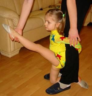 ножки девочек гимнасток